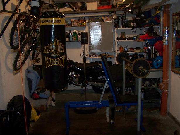 My garage gym  forum sfd
